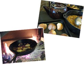 レストランオーナー 中條さん自慢の薪ストーブ料理